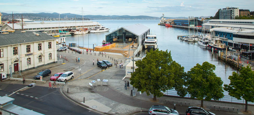 A new waterside space for hobart