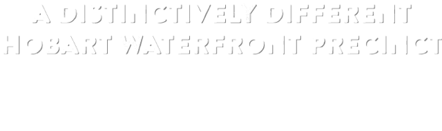 A Distinctively Different Hobart Waterfront Precinct - Brooke Street Pier